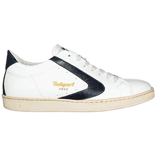 Valsport 1920 Tournament Zapatillas Deportivas Hombre Bianco BLU: Amazon.es: Zapatos y complementos