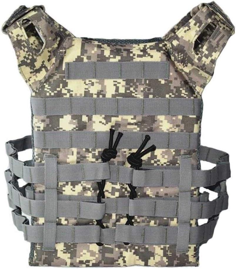 Caza Tactical Body Armor JPC Molle Chaleco Portador de Placa Juego al Aire Libre CS Juego Paintball Airsoft Chaleco Equipo Militar Chaleco t/áctico