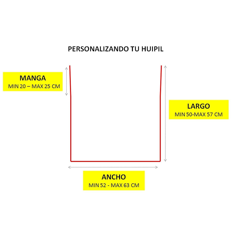 Huipil Oaxaqueño -PERSONALIZADO-. HUIPIL BORDADO DE TRES CADENILLAS ...