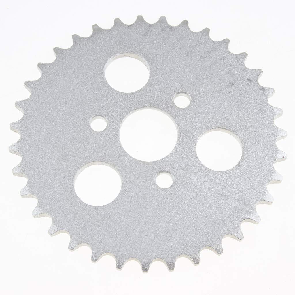 Pi/ñ/ón Trasero Partes Reparaci/ón 35T de Motocicleta 420 Cadena Z50 Metal