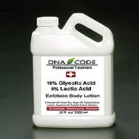 Magic Lotion- 10% Glycolic 5% Lactic Acid Exfoliatingl Body Lotion w/Green Tea, Argan Oil, Papaya, Licorice.