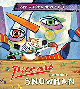 Image result for if picasso painted a snowman