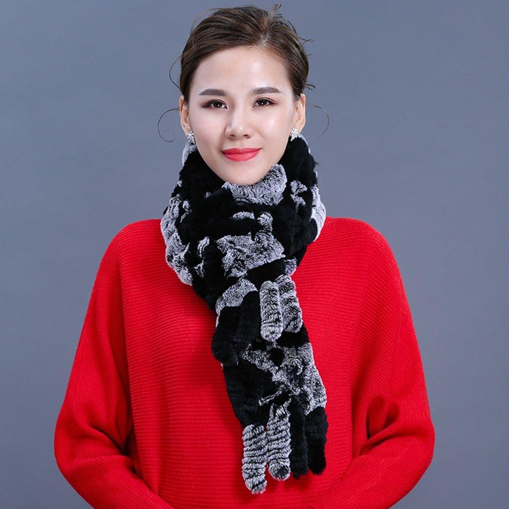 ZHIRONG écharpe Nouveau Style d'hiver élégant Ms Garder Chaud Muffler Tissage Mahomme écharpe Mahomme 175  13 CM (Couleur   08)