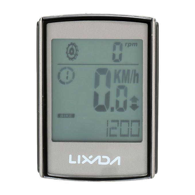 18 opinioni per Lixada Multifunzione 3-in-1 Wireless LCD Ciclocomputer Con Cadenza Frequenza
