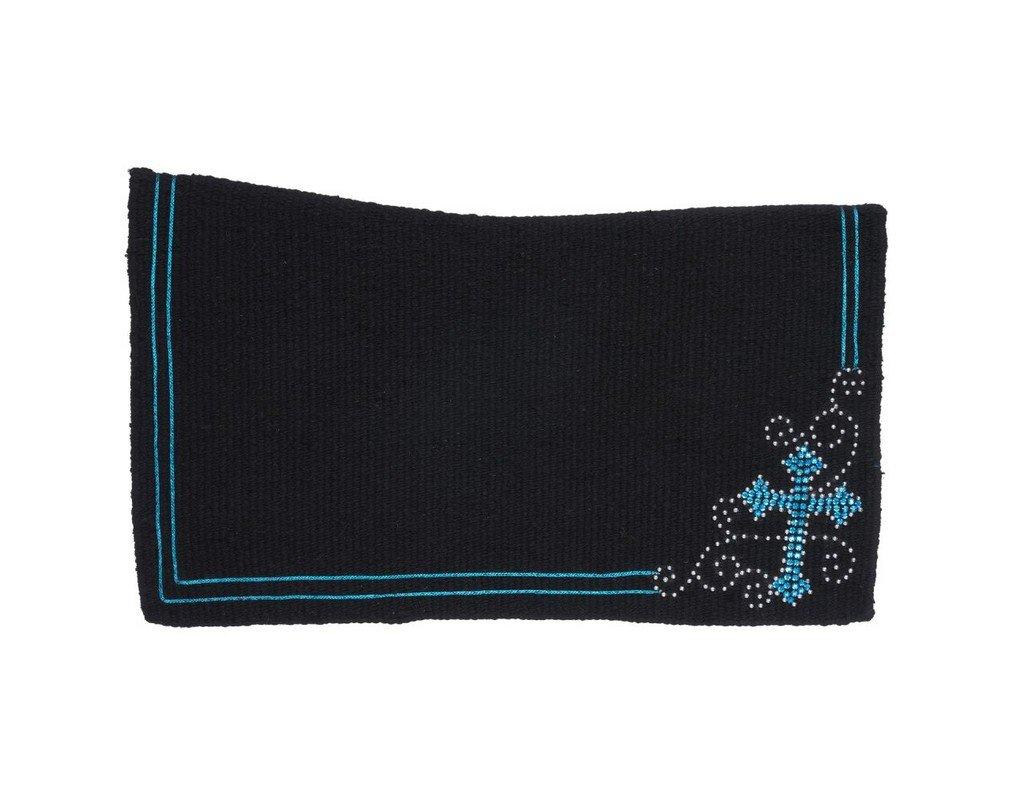 Tough 1 Contour 38x34 Wool Saddle Blanket Turquois
