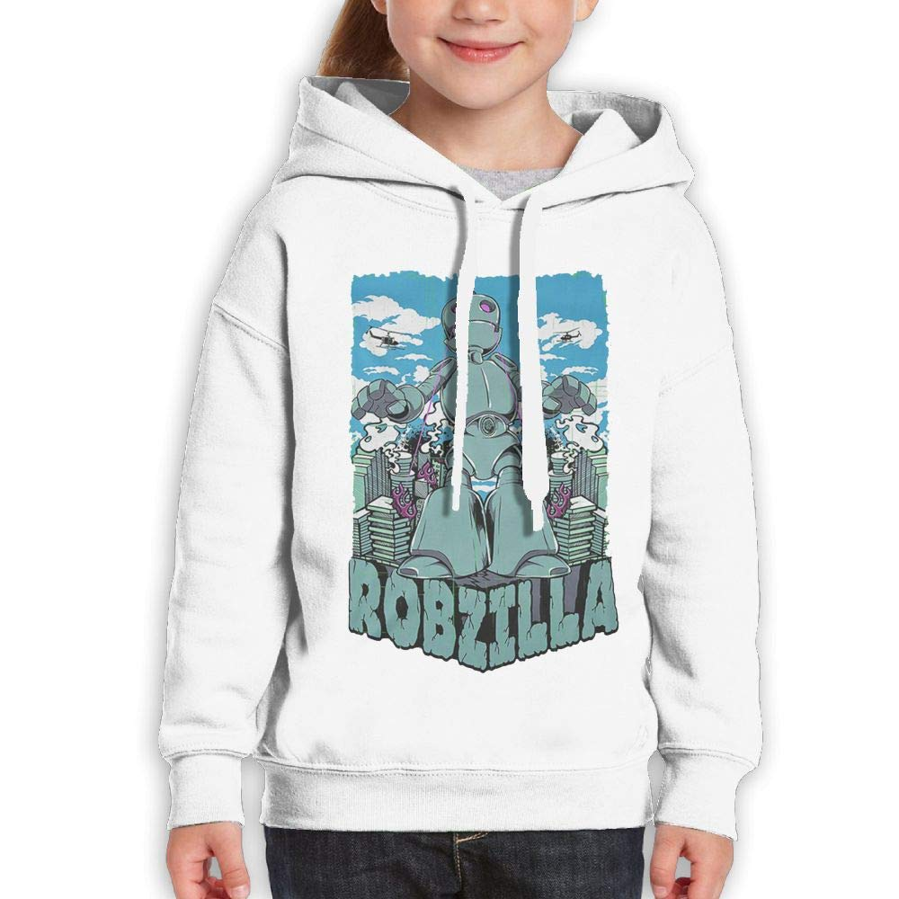 Yishuo Boys & Girls Limited Edition Casual Style Travel Hoody M White