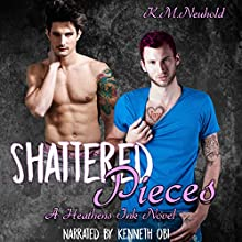 Shattered Pieces: Heathens Ink, Book 4 Audiobook by K.M. Neuhold Narrated by Kenneth Obi
