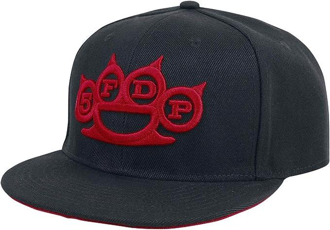Five Finger Death Punch Logo Gorra Negro: Amazon.es: Ropa y accesorios