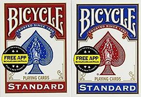 Unbekannt Bicycle US Playing Card 60808 - Lote de barajas inglesas (2 x 54 cartas)