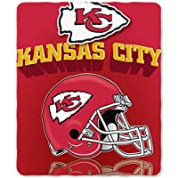 Northwest Kansas City Chiefs Gridiron Fleece Throw