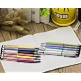 11pcs Crystal Ballpoint Pen With Swarovski Elements WITH Touch Screen Stationary