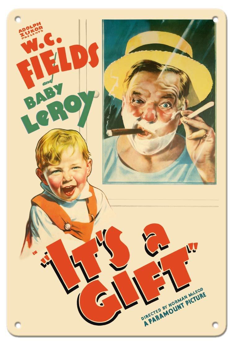 JIA KOAH Its A Gift Starring W.C. Fields,Ba Cartel De Pared ...
