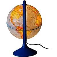 Gürbüz Yayınları 41201 Işıklı Fiziki Küre, 20 cm (Fiziki + Siyasi)