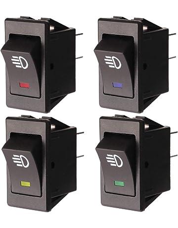 clignotants /électroniques de style rond /à 3 broches 12V 20A Pour relais clignotant /à LED Suuonee Relais clignotant /à LED