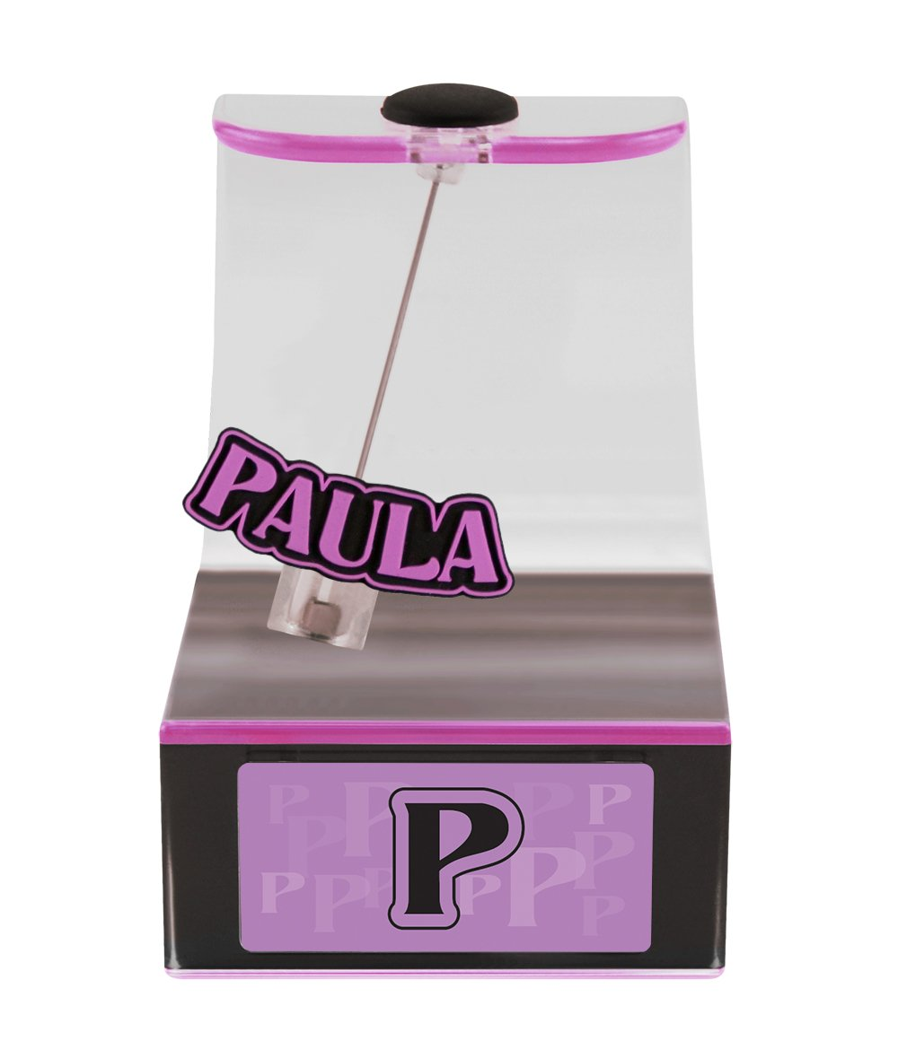 The Swing Thing Paula Solar Powered Personalized Dancing Desk Accessory with Swinging Name