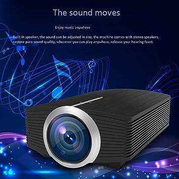 HongLianRiven Proyector, 800 X 480RGB, Ver la TV en la Pared, la ...