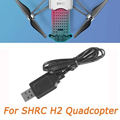 Amazon.com: Fdrone - Cable cargador USB para dron SHRC H2 ...