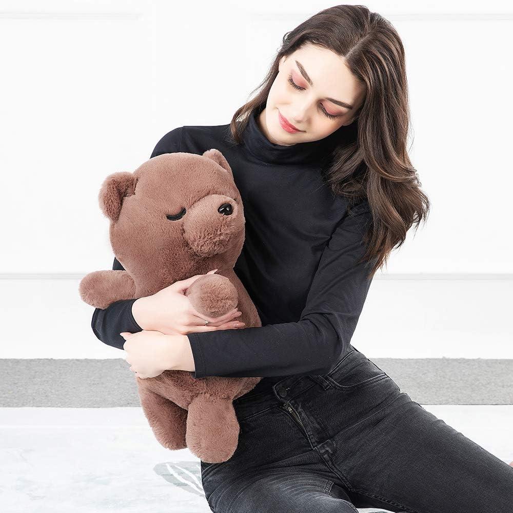 Tezituor Soft Koala Bear Hugging Pillow Cute Koala Plush Stuffed Animals Toys Brown Koala, 20 Inch