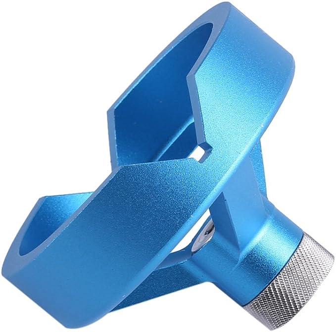 bujes de taladro de 6//7//8//9 Azul 10mm Taladros verticales para madera Taladro de mano el/éctrico Gu/ía de gu/ía de broca autocentrante