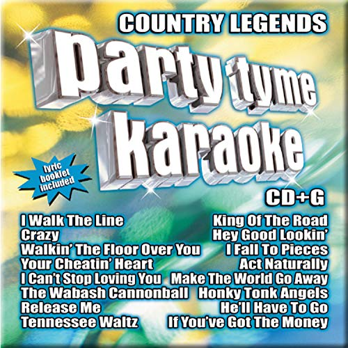 - Party Tyme Karaoke - Country Legends 1 (16-song CD+G)