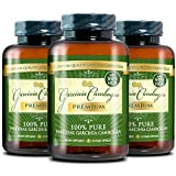 Garcinia Cambogia Premium 95% HCA - Best Natural Weight Loss, Quick Fat Burner and Appetite Suppressant - 180 Vegetarian Capsules, 3 Months Supply - 100% Money Back Guarantee!