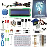 SunFounder Project 1602 LCD Starter Kit For Arduino UNO R3 Mega2560 Mega328 Nano (without Controller) - Including 43 Page Instructions Book