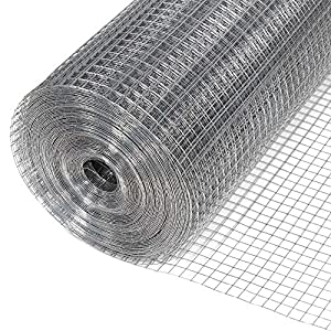 Great Jago Aviary Fencing House Garden Pets Fence Galvanized Welded Wire Mesh  Roll DIFFERENT SIZES