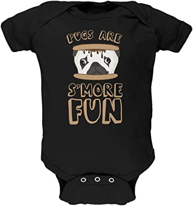 Pugs Not Drugs Cotton Short Sleeve T Shirts for Baby Toddler Infant