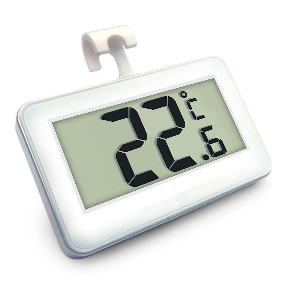 Frigorífico Termómetro, Mini LCD digital resistente al agua ...