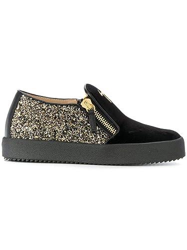 Femme Rw70008004 Giuseppe Zanotti Noiror De Design Chaussures Cuir nNk8wZ0XOP