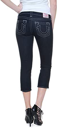 Amazon.com: True Religion 7/8 Jeans ROCKSTAR LOLA, Color ...