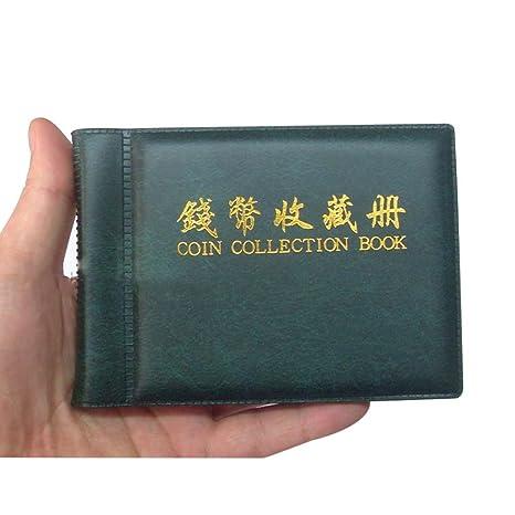 VORCOOL archivador para monedas de colección álbum Monedero ...