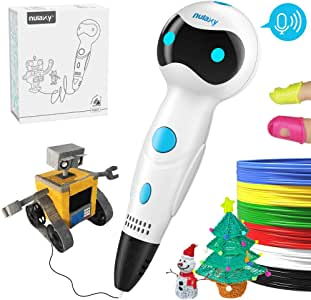 Pluma 3D Impresion, Nulaxy 3D Pen Niños Adultos, Pluma 3D ...
