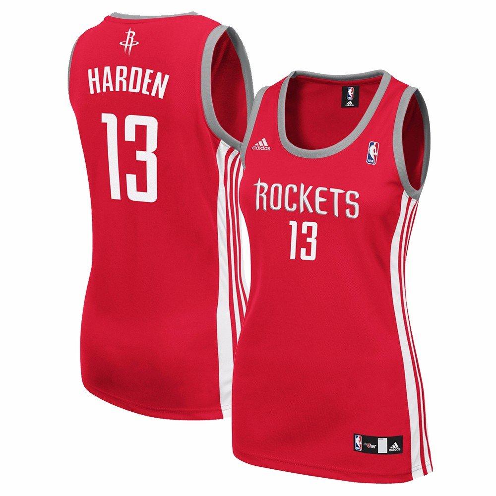James Harden Houston Rockets NBA Adidas Women 'sレッドレプリカジャージー XX-Large  B071YDR4XS