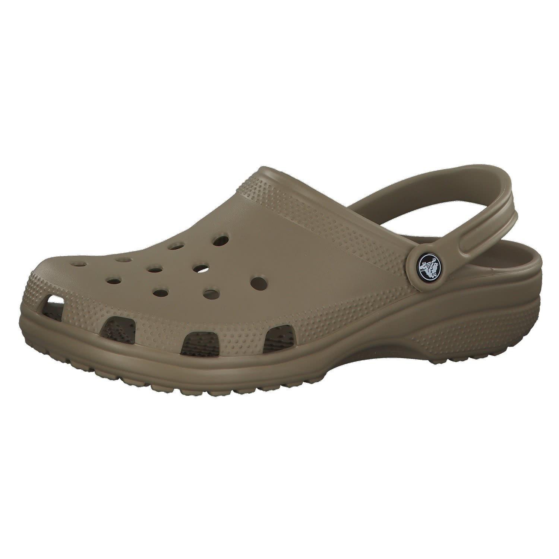 Crocs Adult Classic Clogs Khaki-260 Brown 7