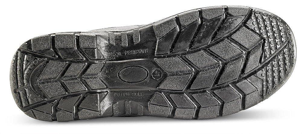 Click Sicherheitsstiefel aus Leder mit Stahlkappe