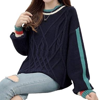 nuova collezione 75e12 86070 LIULIFE Maglione da Donna Primavera Autunno Maglieria ...