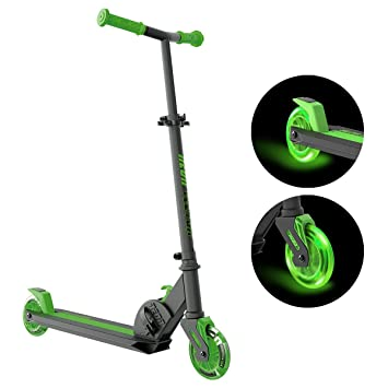 YVolution Neon Vector - Patinete completo, color verde ...
