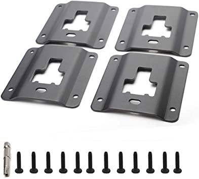 AORRO 4 Pack Boxlink Tie Down Anchors F150 F250 F350 2015 2016 2017 2018 2019 Bed Tie Downs Replaces for Ford FL3Z-99000A64-B
