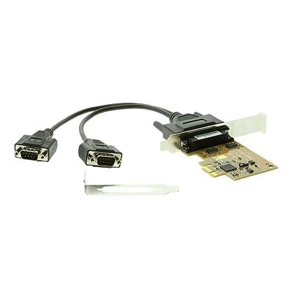 Amazon com: SERIALGEAR 2-Port RS-232 PCI Express Serial