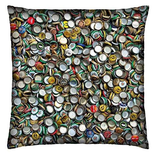 Almofada COLOURS TAMPINHAS - moderna, diferente, criativa, colorida