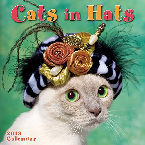 Cats In Hats 2018 Mini Calendar
