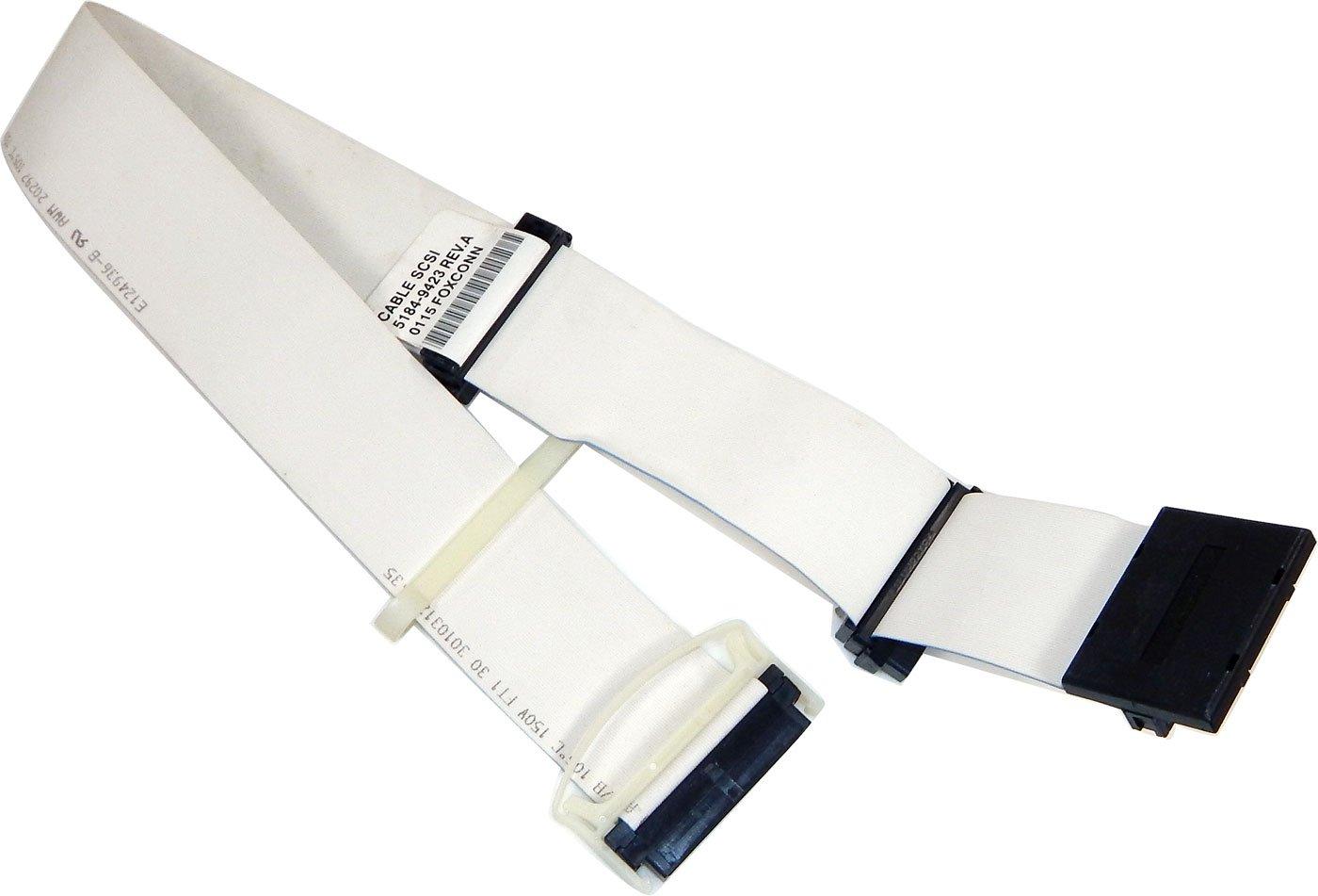 Lot-99 2-Ft 3-Conn 68-Pin SCSI Cable 5184-9423-L99 Internal Cbl w/ Terminator