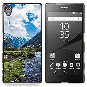 SKCASE Center / Funda Carcasa protectora - Paisaje de la nieve de la montaña;;;;;;;; - Sony Xperia Z5 5.2 Inch (Not for Z5 Premium 5.5 Inch)