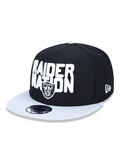 wholesale dealer 5f4b1 020da Image Unavailable. Image not available for. Color  New Era Oakland Raiders  2018 NFL Draft Spotlight Snapback 9Fifty Adjustable Hat