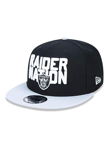 New Era NFL Oakland Raiders 2018 Draft Spotlight 9Fifty Snapback Cap   Amazon.es  Ropa y accesorios bbde0b1c295