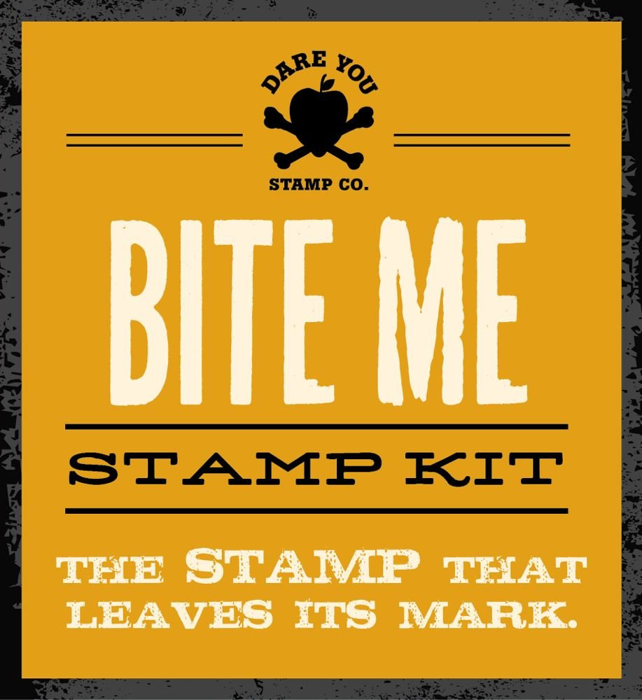 Download Bite Me Stamp Kit: The definitive stamp that leaves its mark PDF