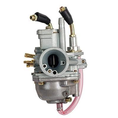 Carburetor For Polaris Predator 90 MANUAL CHOKE 90cc Carb SPORTSMAN 90 YAMAHA JOG 90 100 90cc 100cc 4DM: Automotive