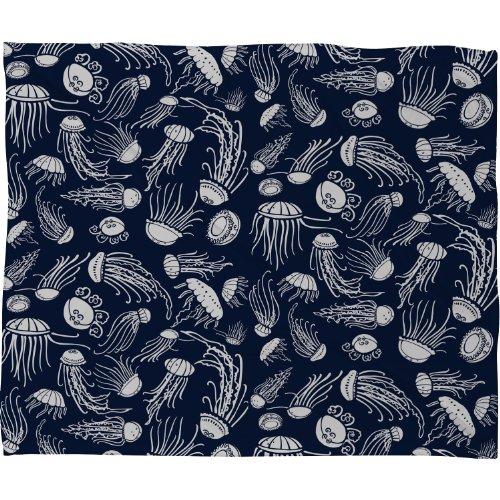 DENY Designs Jennifer Jellyfish Blanket
