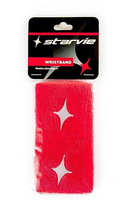 Star vie - Muñequera Roja Starvie-Pack De 2: Amazon.es ...